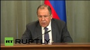 Russia: Lavrov signs consultation plan with Chinese FM Wang Yi
