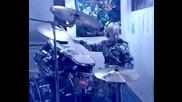 Kid drumming Iron Maiden - Different World