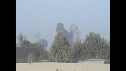 9 500 Pound Bombs Dropping On Taliban In Afghanistan