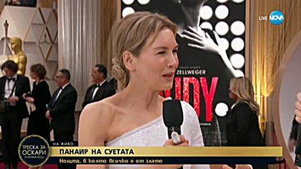 """Рене Зелуегър на червения килим на """"Оскарите"""""""