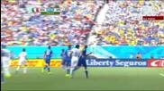 Мондиал 2014 - Италия 0:1 Уругвай - Неадекватен съдия покоси Италия и ги изхвърли от Мондиала