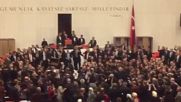 Масов бой в турския парламент