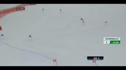 катастрофата на Линдзи Вон на световното по ски в Австрия 2013