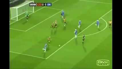 топ 10 най - добри гола на Челси 08 - 09