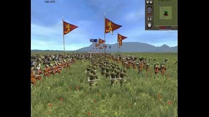 Medieval 2 Online Battle #2 Scotland Vs England