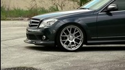 Mercedes C350 on 20' Vossen Vvs-cv2 Concave Wheels Rims