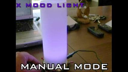Декоративна лампа с светодиоди