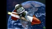 Aidamir Mugu Vs Crazy Frog - Chernie Glaza(bg subs)