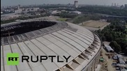 Russia: Drone films the venue of FIFA's World Cup 2018 final