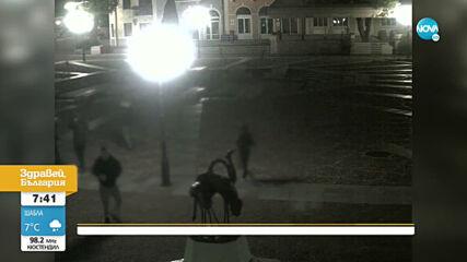 Вандали трошат в центъра на Ловеч
