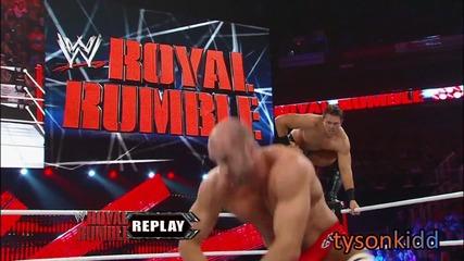Wwe Royal Rumble 2013 - Pre - Show : Antonio Cesaro с/у The Miz for U S A Championship