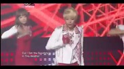 Hq 110624 F(x) - Hot Summer Music Bank June 24, 2011