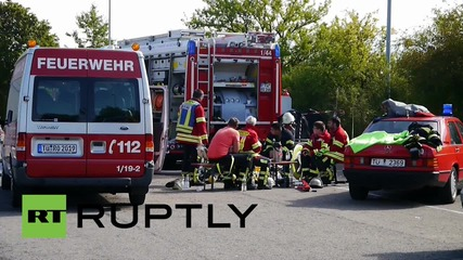 Germany: 5 injured as fire rips through Rottenburg refugee centre