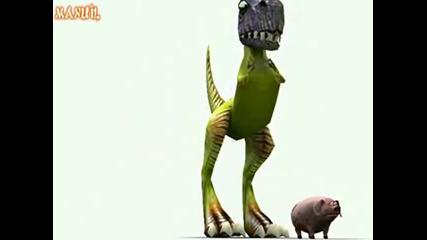 Ето как са умрели динозаврите ( Смях ) !