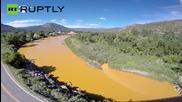1 Million Gallons of Toxic Sludge Turns Animas River Orange