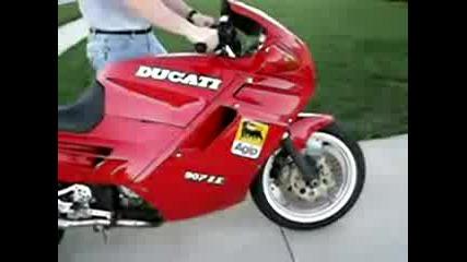 Ducati 907 Exhaust