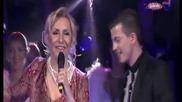Vesna Zmijanac & Milan Dincic Dinca - Kad zamirisu jorgovani - Grand Show 21.03.2014 - Prevod