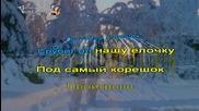 Руски Детски песни - В лесу родилась ёлочка караоке