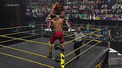 "Leon Ruff vs. Isaiah ""Swerve"" Scott: WWE NXT, April 13, 2021"