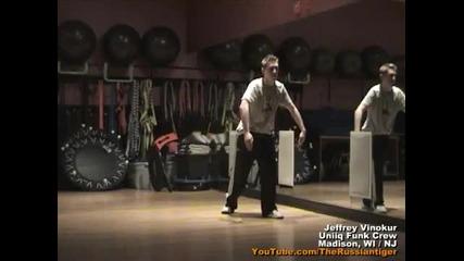 Еволюцията на един брейк танцьор