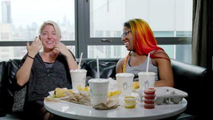 Alexa Bliss' shake mishap while dining with Ember Moon (WWE 365 Bonus Clip)