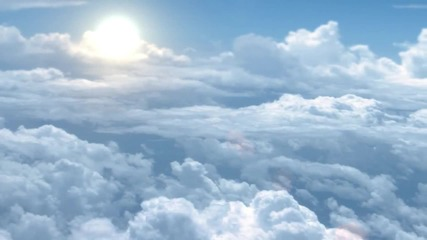 After Effects Animated Clouds (project included) (hd)