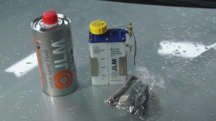 Jlm Омаслител за клапани газова уредба valve saver kit Lpg