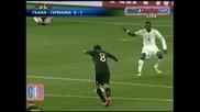 23.06.2010 Гана - Германия 0:1 Всички голве и положения - Мондиал 2010 Юар