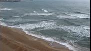 Морето през януари