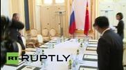 Austria: Lavrov meets P5+1 counterparts for Iran nuclear talks