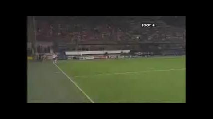 Красив Гол !! Ac Milan 0 - 1 Zurich (10 H. Tihinen)