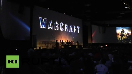 USA: Warcraft cast give sneak preview of new movie