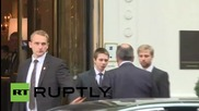 Austria: Lavrov arrives for second day of Syrian conflict talks