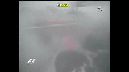 Катастрофа На Фернандо Алонсо (Monte Fuji)