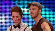 Britain's Got Talent 2012 James Ingham and Ed Gleave audition
