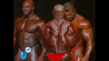 Mr. Olympia 2006 - Jay Cutler Vs Ronnie Coleman