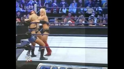 Maryse vs Michelle Mccool