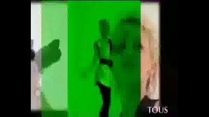 Kylie - Рекламен на бижутата Tous!!!!