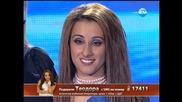 X Factor Bulgaria 17.10.2013 - Theodora Tsoncheva - Bleeding Love