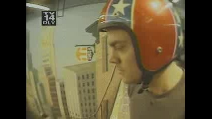 Jackass - Half Pipe Skateboarding