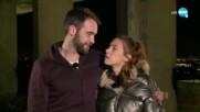 """""""Един за друг"""" - Стефания и Анджело - втората двойка, напуснала шоуто - """"На кафе"""" (12.03.2021)"""