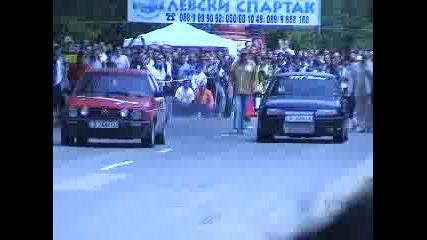 Драг - Opel Vectra Vs. Vw Golf 2 Gti