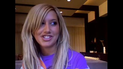 Ashley Tisdale Video Blog