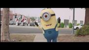 Pharrell Williams - Happy ( Официално Видео ) Саундтрака на