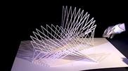 Невероятни 3d хартиени скулптури!