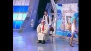 руско tv шоу в което трябва да изиграят Буратино (на живо)