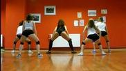Сексапилни момичета практикуват twerk на Tyga - Make It Nasty