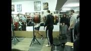 Крум Крумов - клек с 280 кг (14.03.2010)