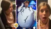 """Ето така реагираха на Кака Лара най-големите фенове на """"Маскираният певец"""" - дъщерите ѝ!"""
