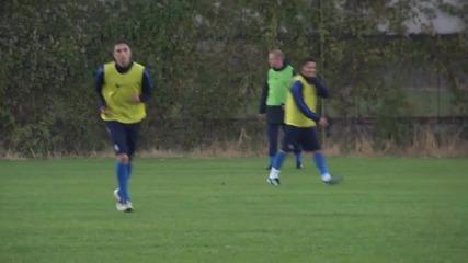 Коен тренира с Левски, Станчев се завърна на терена